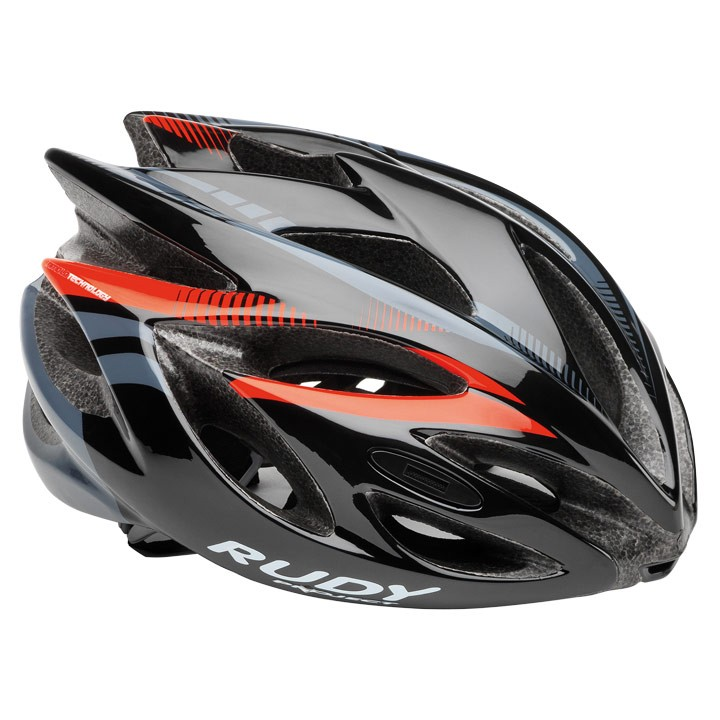 Casco da ciclismo RUDY PROJECT Rush 2018 black-red fluo shiny
