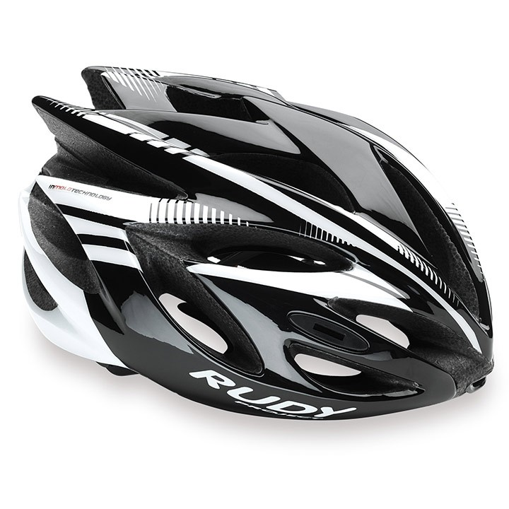Casco da cislismo RUDY PROJECT Rush 2018 black-white shiny