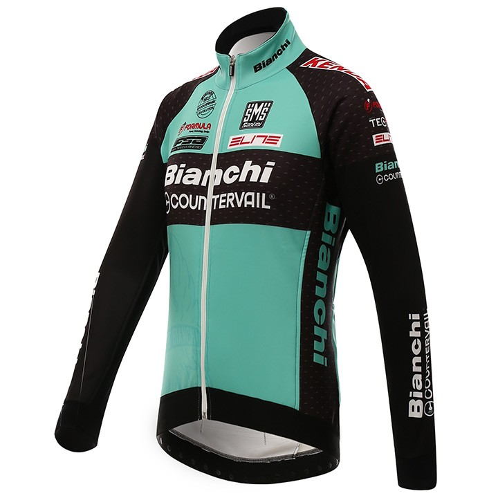 Giacca invernale BIANCHI MTB 2016