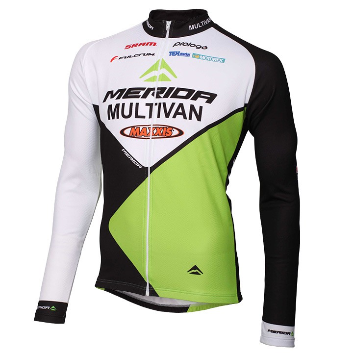 Maglia manica lunga MULTIVAN MERIDA BIKING TEAM 2014