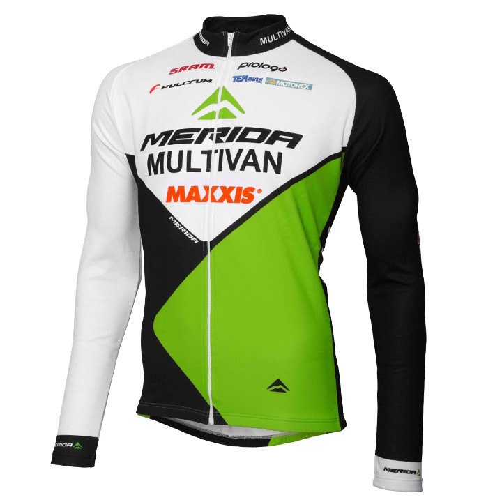 Maglia manica lunga MULTIVAN MERIDA BIKING TEAM 2015