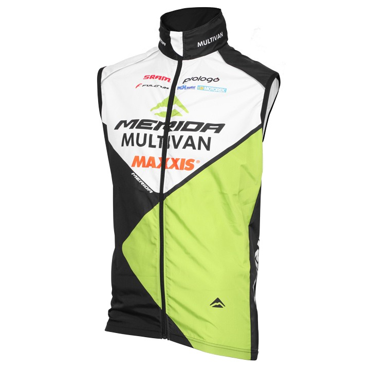 Gilet antivento MULTIVAN MERIDA BIKING TEAM 2016
