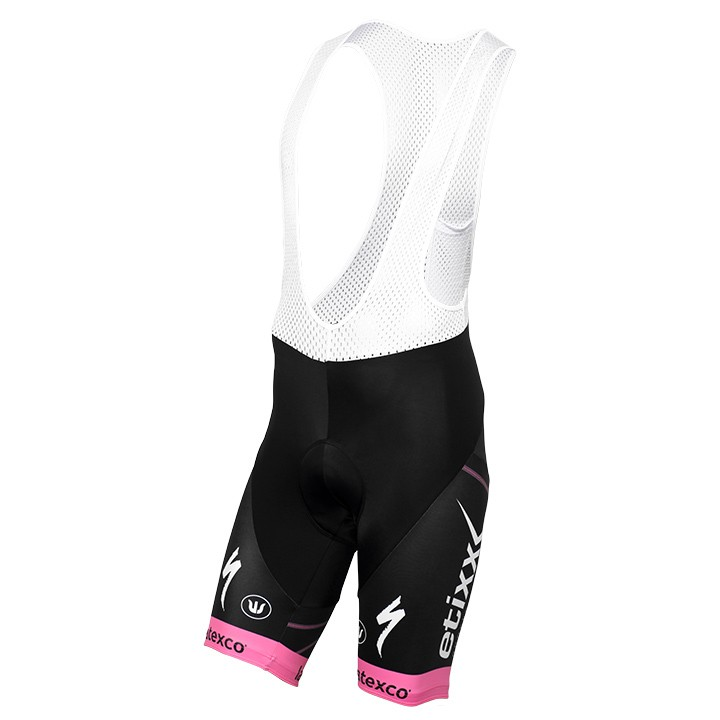 Pantaloncino con bretelle LTD Edition rosa ETIXX-QUICK STEP 2016