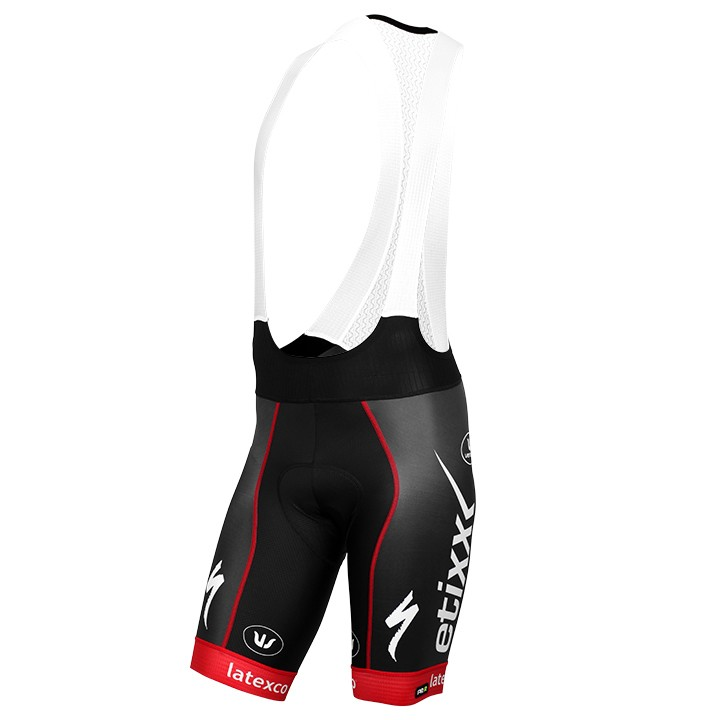Pantaloncino con bretelle PRR LTD Edition rosso ETIXX-QUICK STEP 2016