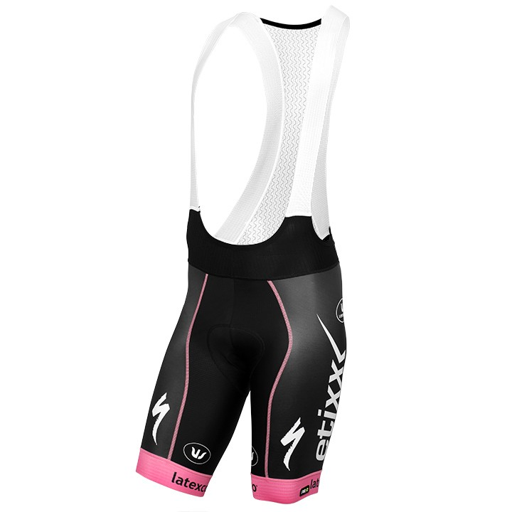 Pantaloncino con bretelle PRR LTD Edition rosa ETIXX-QUICK STEP 2016